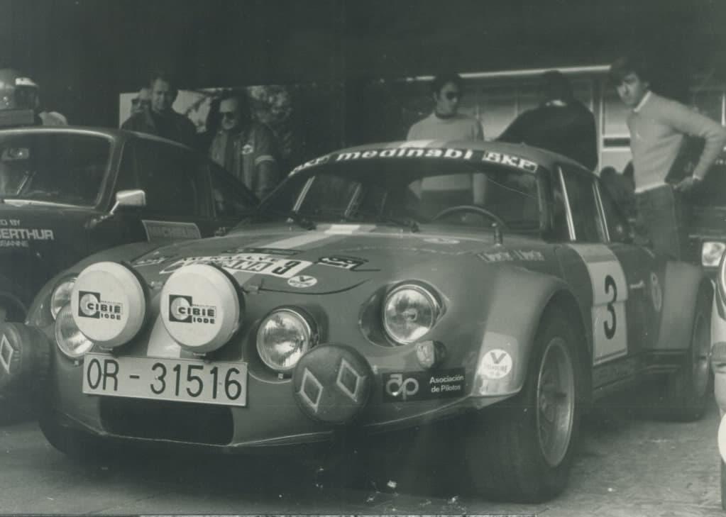 Alpinche Estanislao Reverter Rallye 1 | Alpinche : quand l'Alpine A110 passe au Flat-6 Porsche !