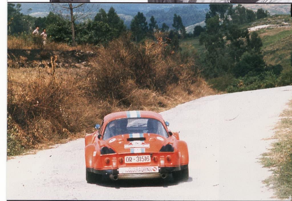 Alpinche Estanislao Reverter Rallye 10 | Alpinche : quand l'Alpine A110 passe au Flat-6 Porsche !