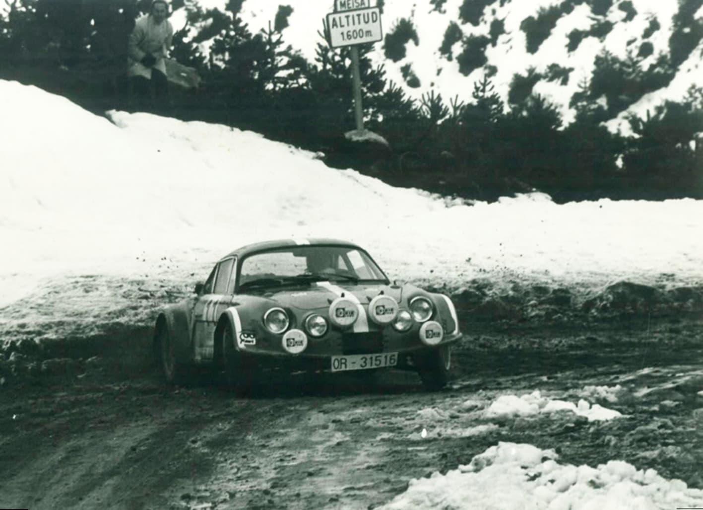 Alpinche Estanislao Reverter Rallye 4 | Alpinche : quand l'Alpine A110 passe au Flat-6 Porsche !