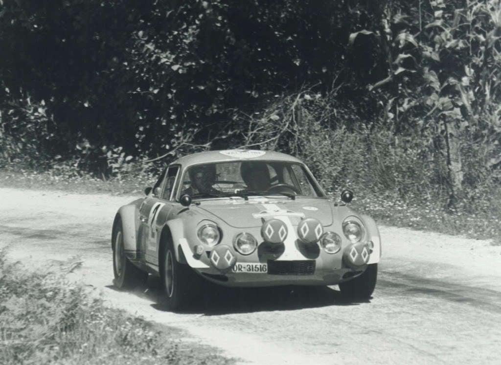 Alpinche Rallye Rías Bajas 2 1971 | Alpinche : quand l'Alpine A110 passe au Flat-6 Porsche !