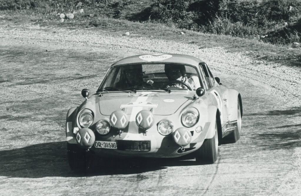 Alpinche Rallye Rías Bajas 3 1971 | Alpinche : quand l'Alpine A110 passe au Flat-6 Porsche !