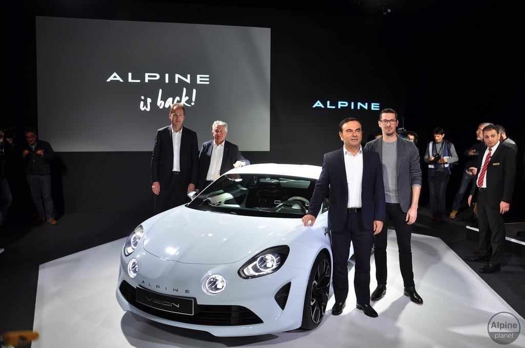 Alpine Vision Carlos Ghosn