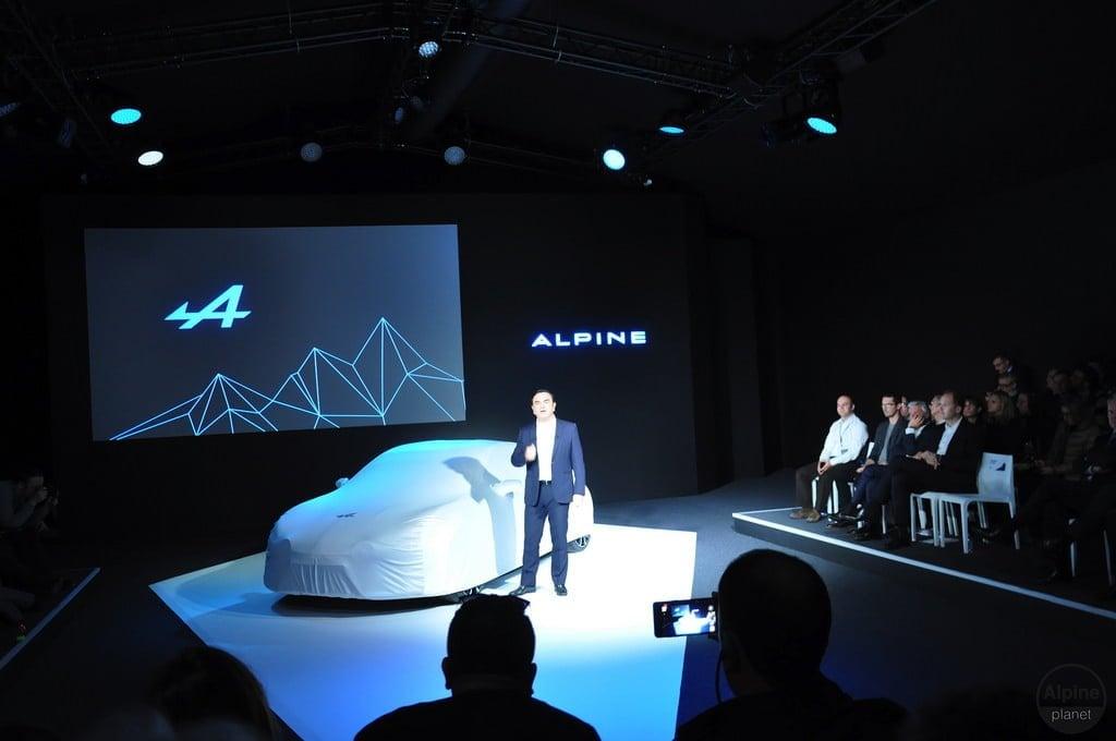 Conférence de presse Alpine Monaco 4 | Le 16 Février 2016 : le retour d'Alpine avec l'Alpine Vision !