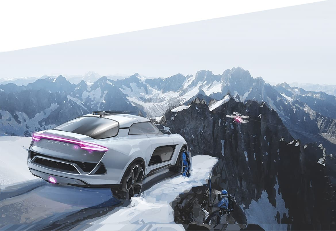 SUV chez Alpine