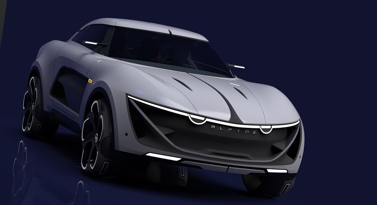 Alpine SUV 3   Le futur SUV Alpine peut-être en fuite... Sketch 2016