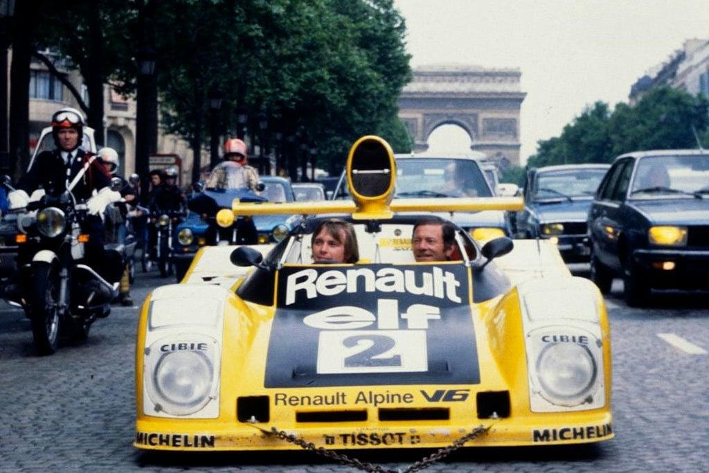 Alpine A442 3 1978 Champs Elysées | PassionnéMans Alpine ! (3ème Partie)