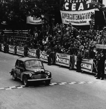 Mille Miles Renault 4CV de Rédélé Pons 1954 - Jean Rédélé