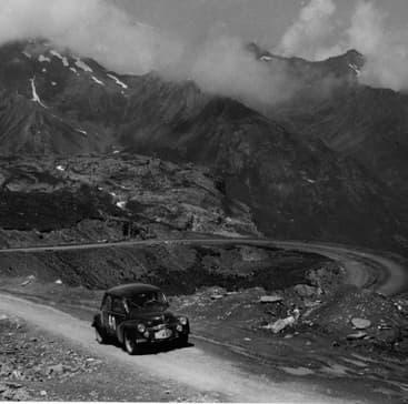 Rallye des Alpes 1952 - Jean Rédélé