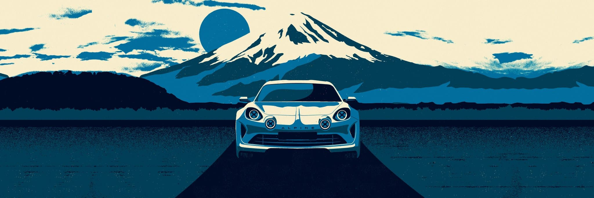 Alpine Vision Tokyo poster
