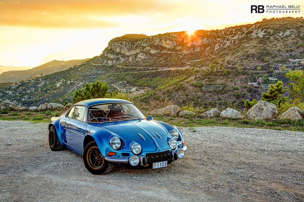 L'Alpine A110 vue par Raphaël Belly