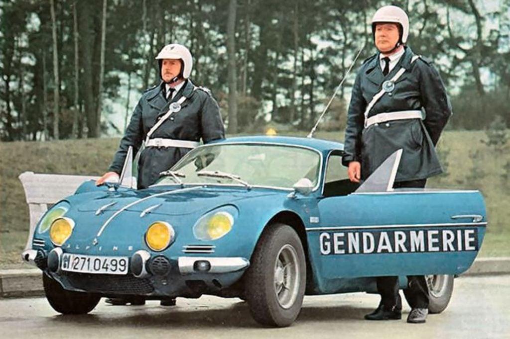 Alpine A110 Berlinette BRI Gendarmerie 11 | Toutes les Alpine sont bleues !