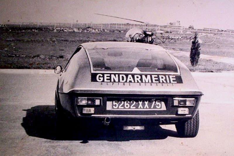 Alpine A310 4 Cylindres BRI Gendarmerie 2 | L'Alpine A310 4 cylindres, en piste pour les seventies