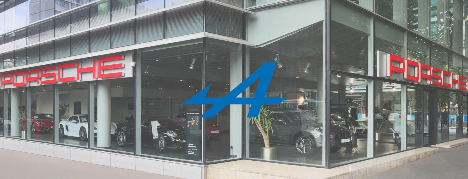 Quand un Centre Porsche laisse la place à un Showroom Alpine !