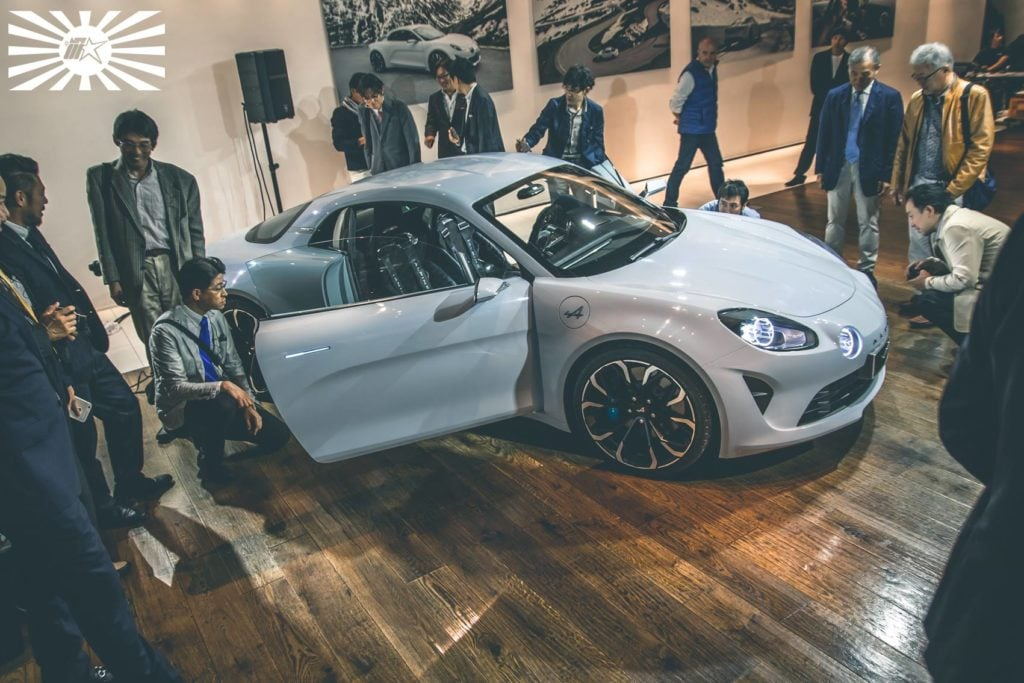Type 01 Présentation Alpine Vision A110 à Tokyo 23 | La conférence d'Alpine à Tokyo sous l'oeil de Type-01