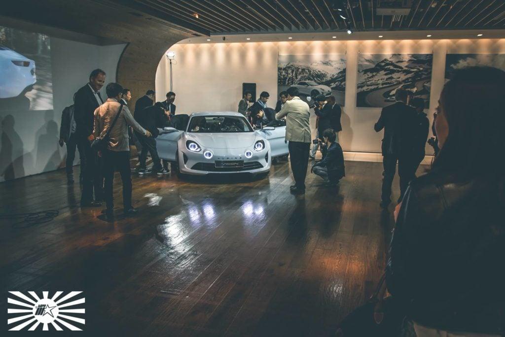 Type 01 Présentation Alpine Vision A110 à Tokyo 52 | La conférence d'Alpine à Tokyo sous l'oeil de Type-01
