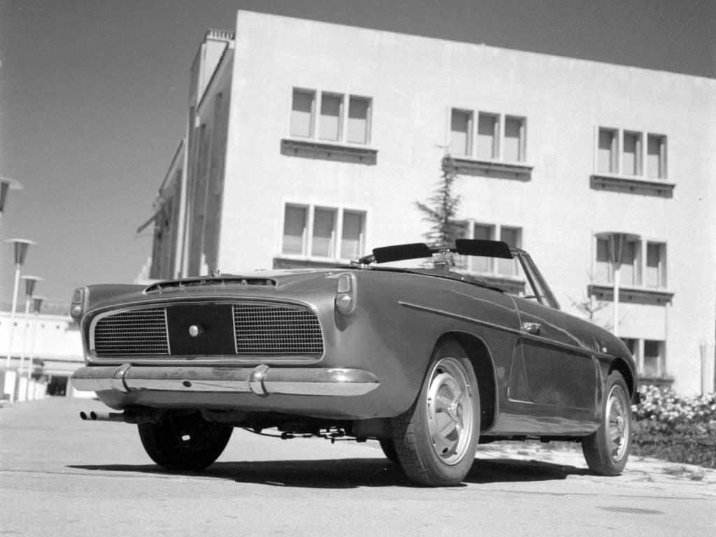 FASA Renault Alpine A108 Cabrio 1963–66 3 | FASA Renault Alpine A110 : Amor de España !
