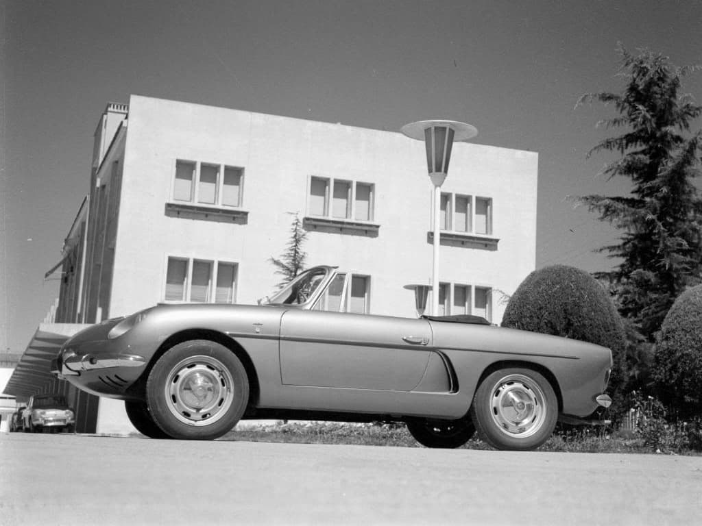 FASA Renault Alpine A108 Cabrio 1963–66 6 | FASA Renault Alpine A110 : Amor de España !
