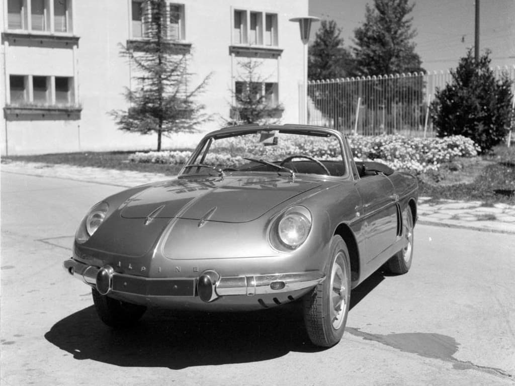 FASA Renault Alpine A108 Cabrio 1963–66 8 | FASA Renault Alpine A110 : Amor de España !