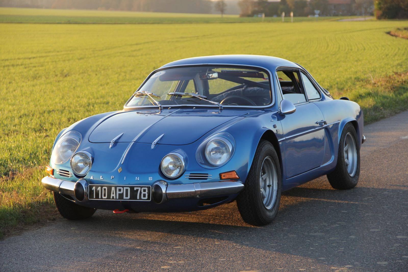 Jean-Pascal Dauce et son Alpine A110 1300 de 1971