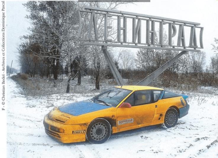 RL St Pétersbourg | Le Raid Liberté : 8 000 km en Alpine A610 de Paris à Saint Pétersbourg