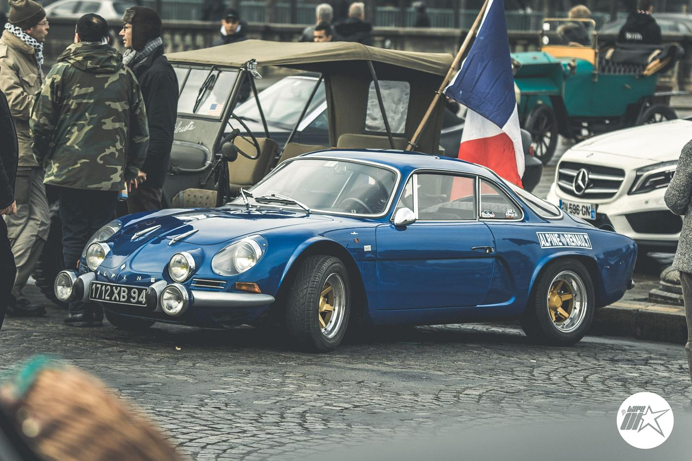 Traversée de Paris 2017 en Alpine par Type-01