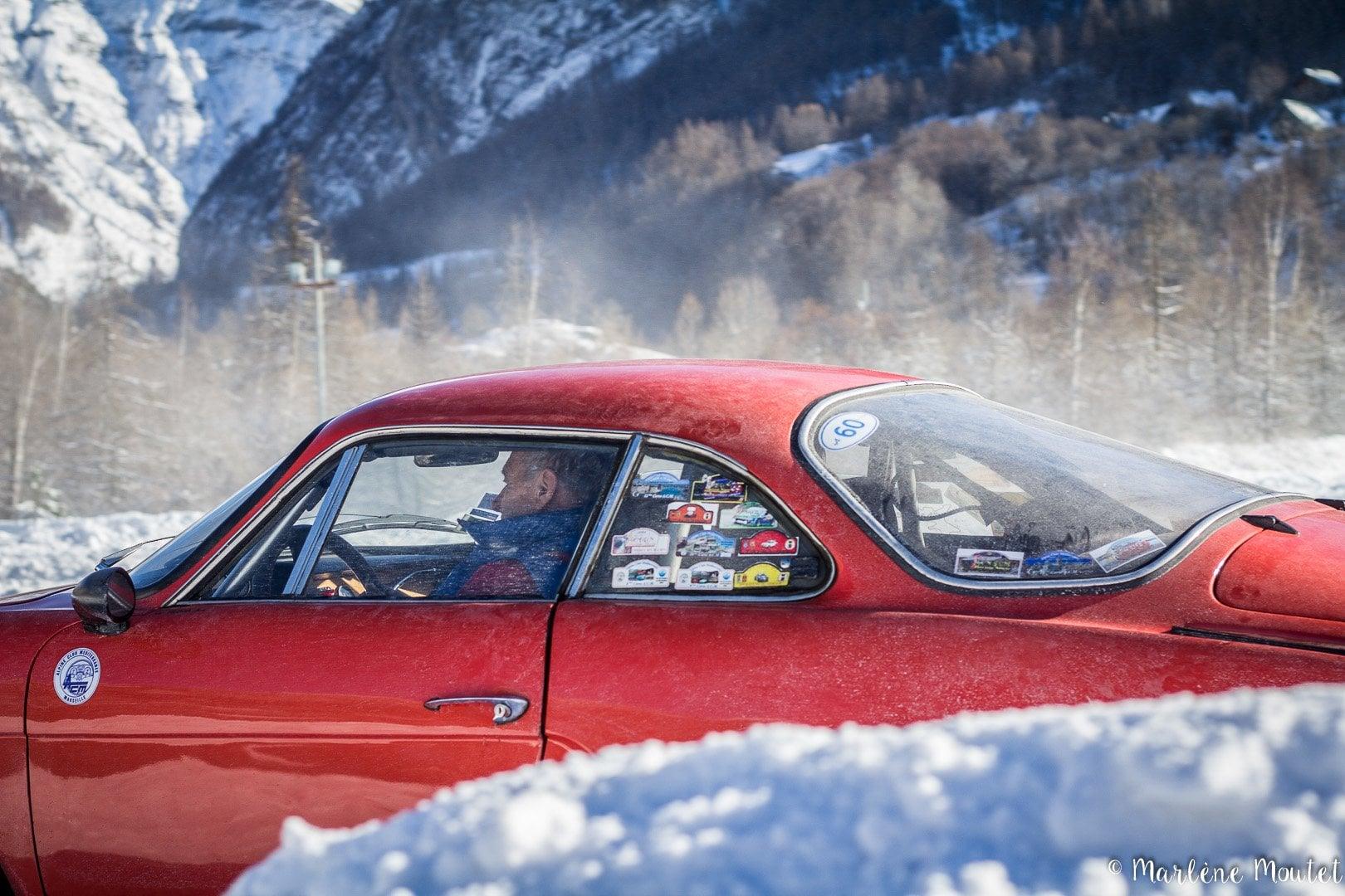 Alpine A110 A310 Orcières piste glace marlene moutet 12 | Des Alpine et 1000 mètres de piste sur glace !