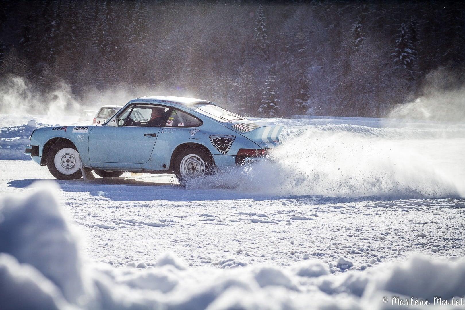 Alpine A110 A310 Orcières piste glace marlene moutet 15 | Des Alpine et 1000 mètres de piste sur glace !