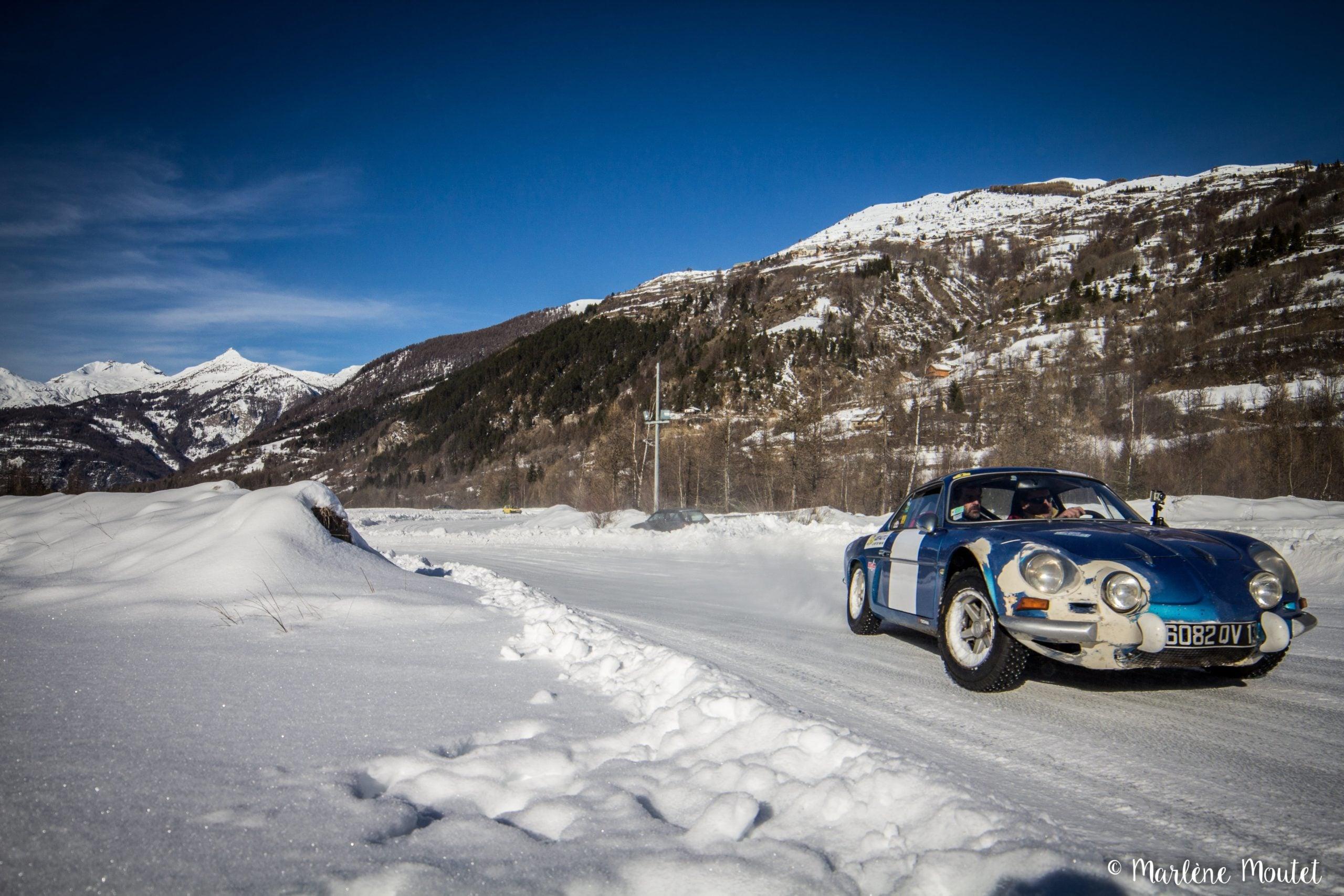 Alpine A110 A310 Orcières piste glace marlene moutet 20 scaled | Des Alpine et 1000 mètres de piste sur glace !