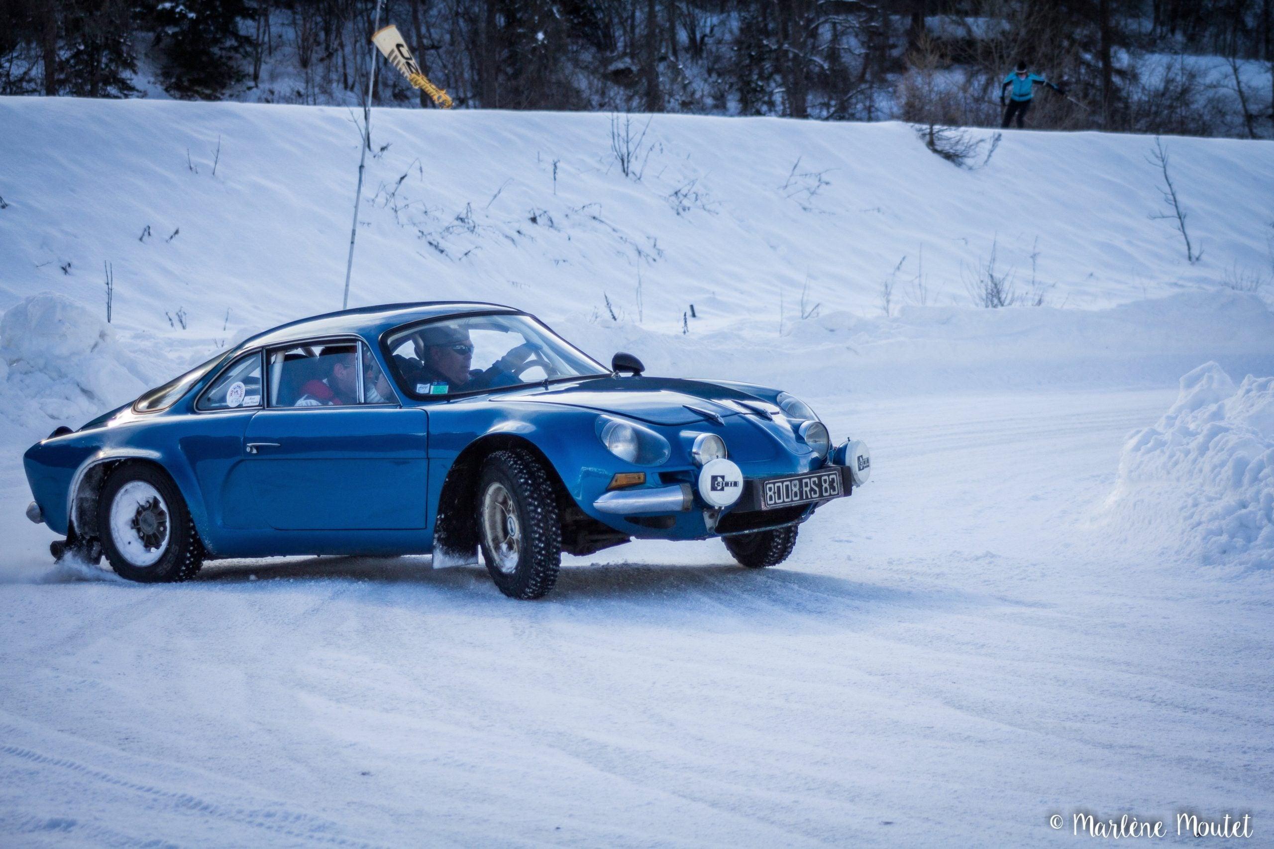 Alpine A110 A310 Orcières piste glace marlene moutet 26 scaled | Des Alpine et 1000 mètres de piste sur glace !
