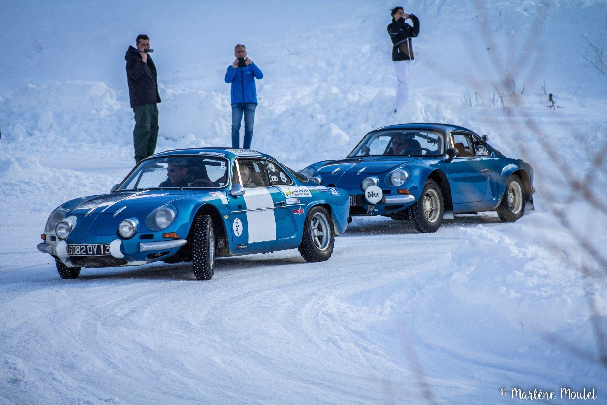 Alpine A110 A310 Orcières piste glace marlene moutet 28 scaled | Des Alpine et 1000 mètres de piste sur glace !