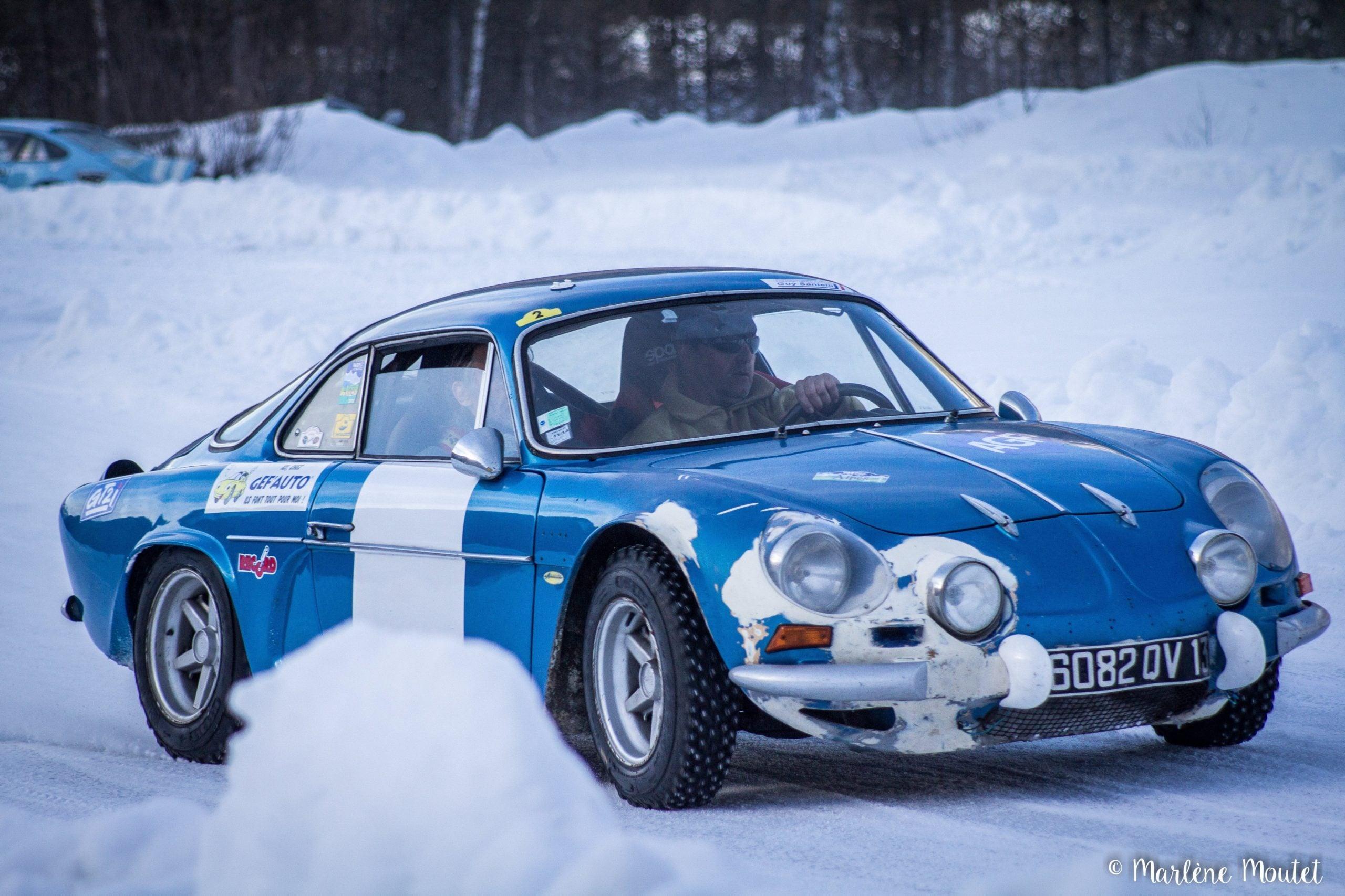 Alpine A110 A310 Orcières piste glace marlene moutet 34 scaled | Des Alpine et 1000 mètres de piste sur glace !