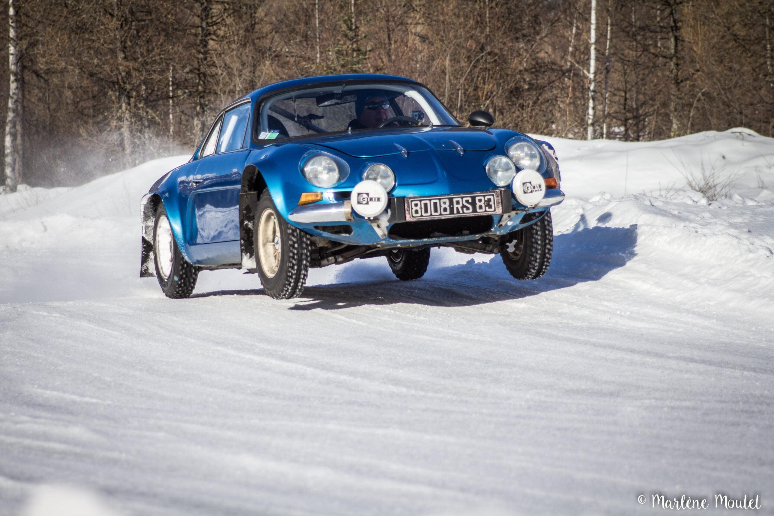 Alpine A110 A310 Orcières piste glace marlene moutet 39 scaled | Des Alpine et 1000 mètres de piste sur glace !