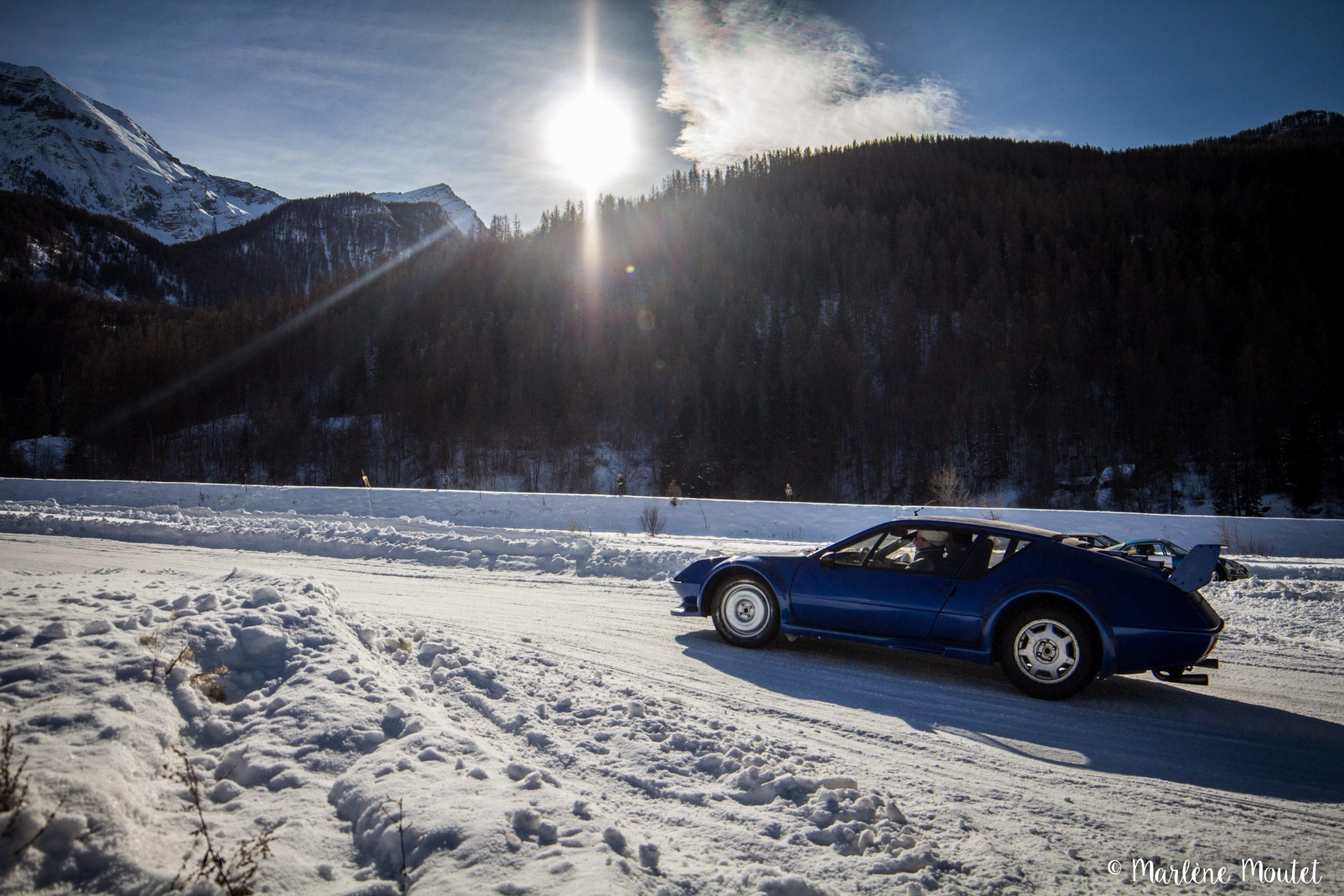 Alpine A110 A310 Orcières piste glace marlene moutet 42 scaled | Des Alpine et 1000 mètres de piste sur glace !