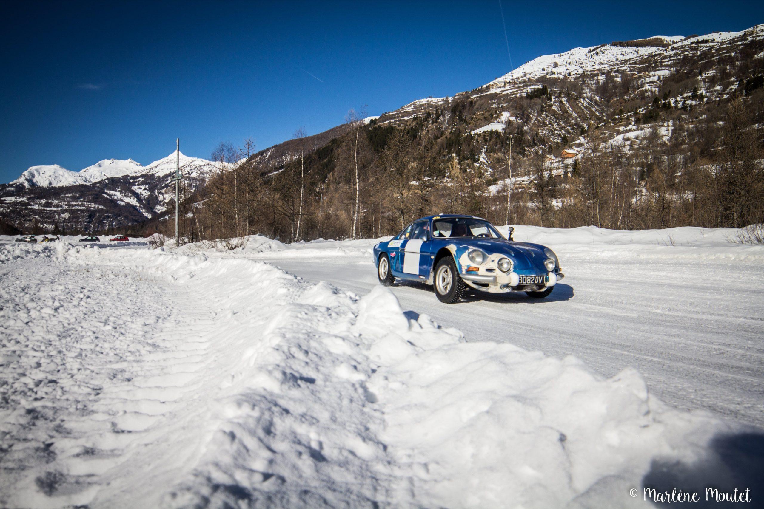Alpine A110 A310 Orcières piste glace marlene moutet 44 scaled | Des Alpine et 1000 mètres de piste sur glace !