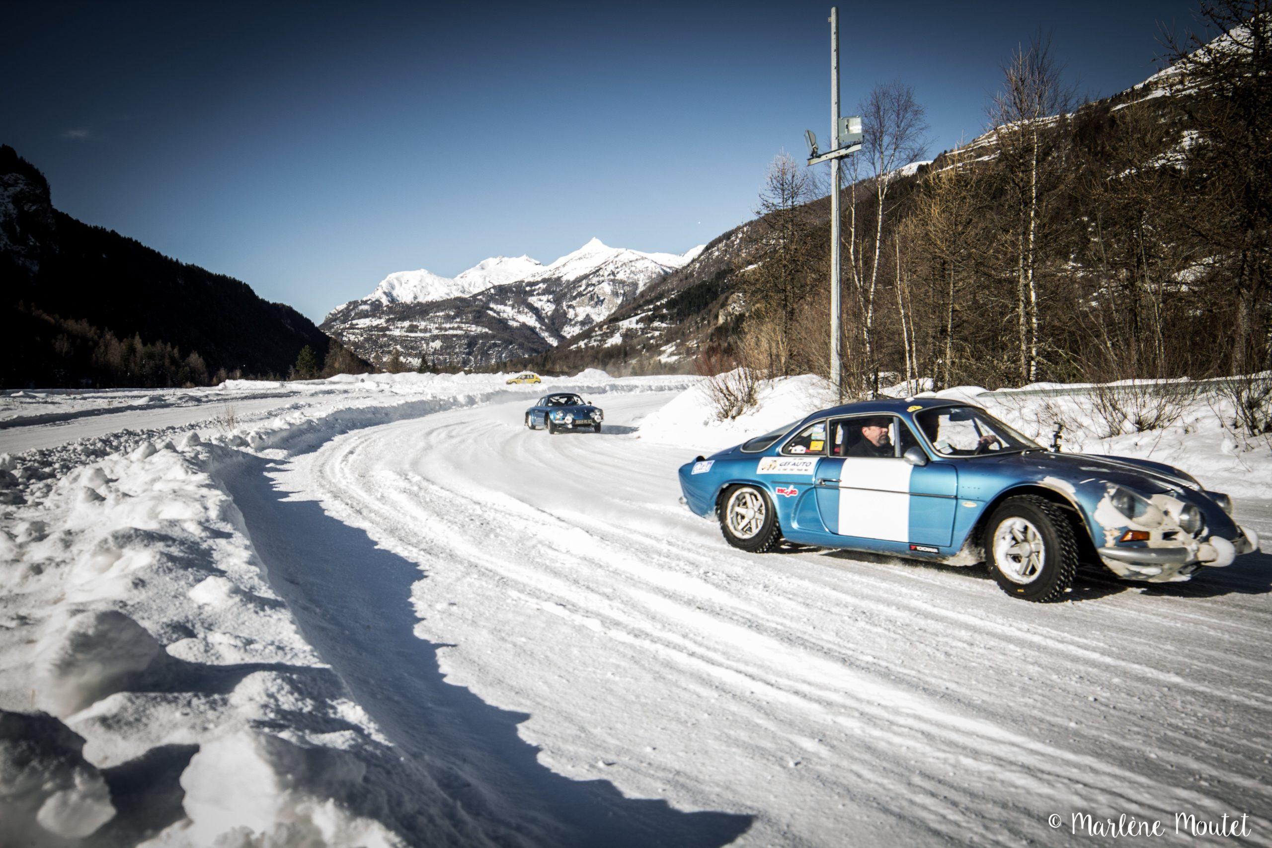 Alpine A110 A310 Orcières piste glace marlene moutet 48 scaled | Des Alpine et 1000 mètres de piste sur glace !