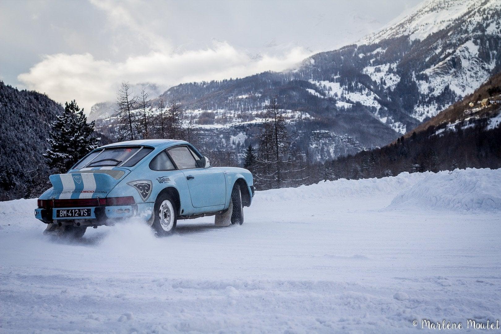 Alpine A110 A310 Orcières piste glace marlene moutet 9 | Des Alpine et 1000 mètres de piste sur glace !