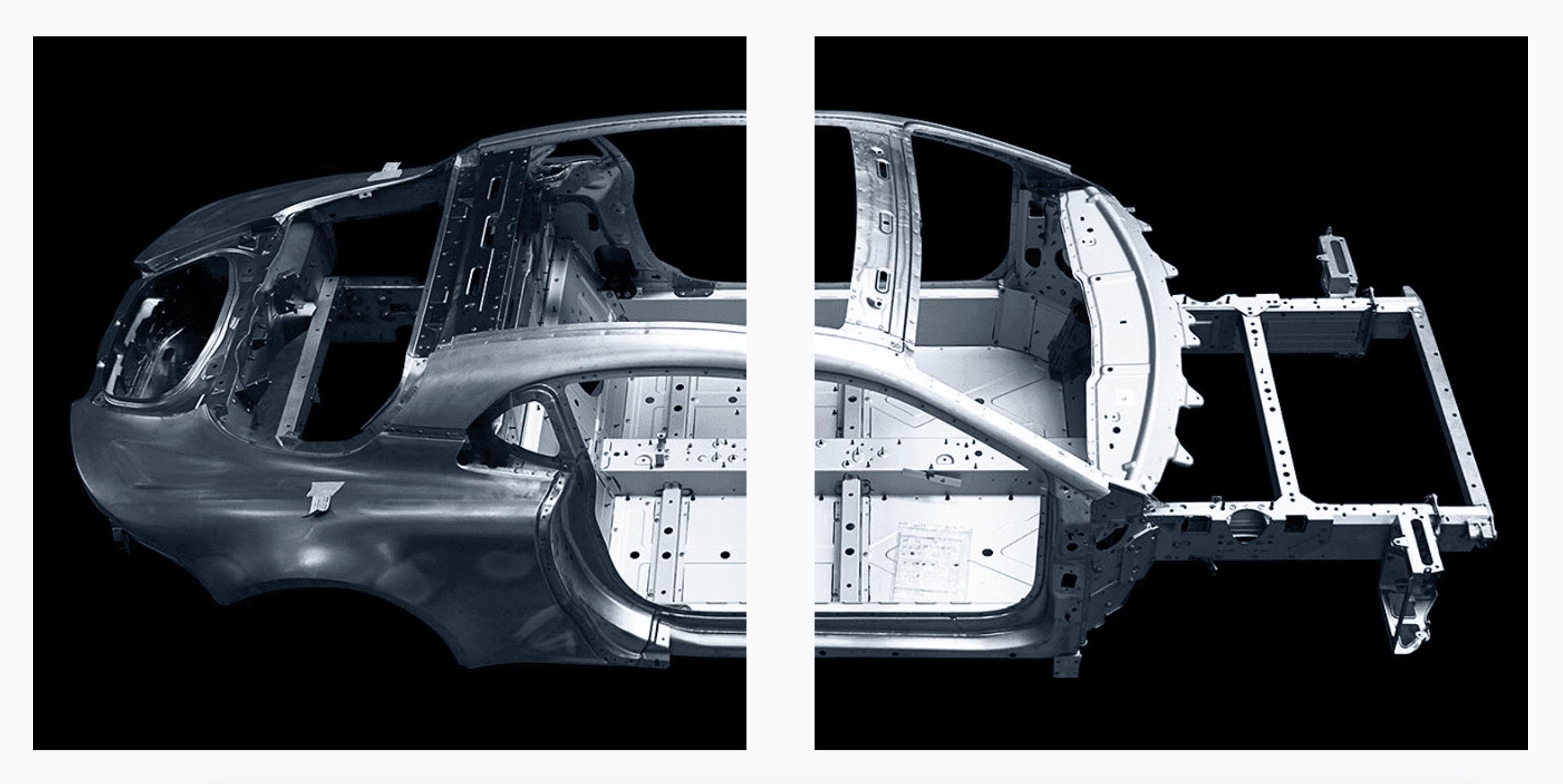 Alpine planet aluminium frame10   Alpine révèle la structure en aluminium de sa nouvelle berlinette