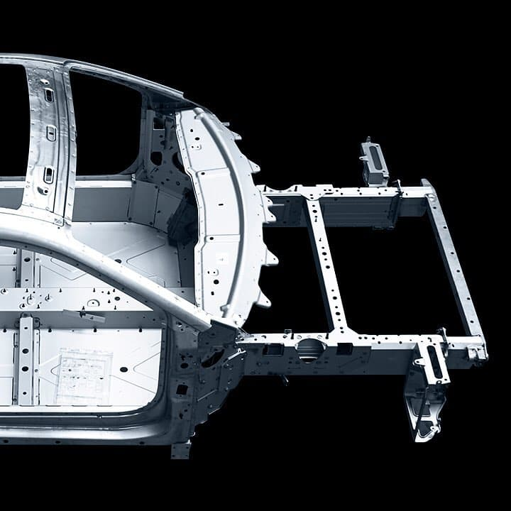 Alpine planet aluminium frame3   Alpine révèle la structure en aluminium de sa nouvelle berlinette