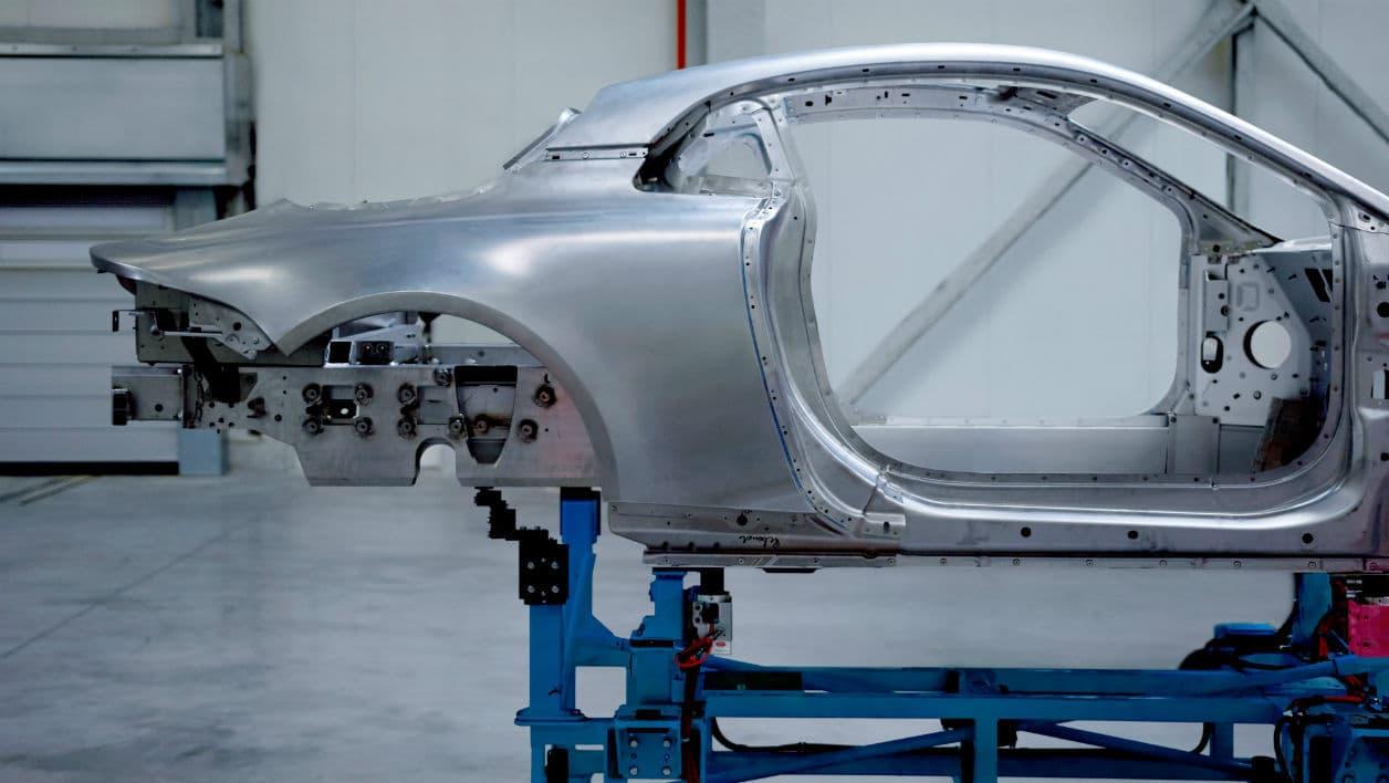 Alpine révèle la structure en aluminium de sa nouvelle berlinette