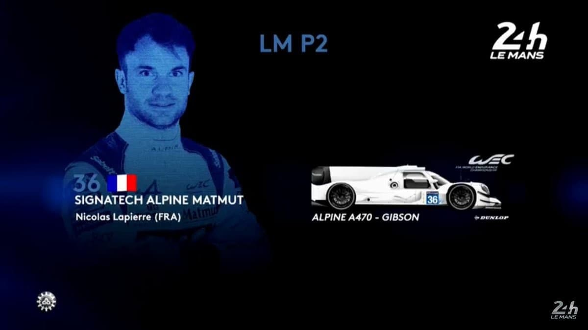 Premier aperçu de la Signatech-Alpine Matmut A470 3