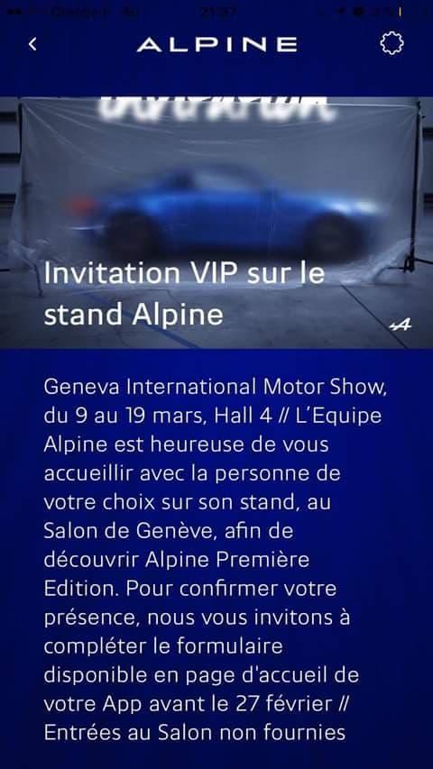 IMG 0948 | Alpine Cars a une invitation … pour vous !