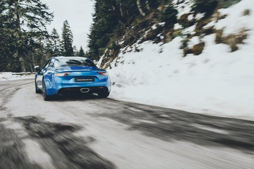 alpine A110 alpine planet back | De l'Alpine Celebration à l'A110, une élégante variable d'ajustement