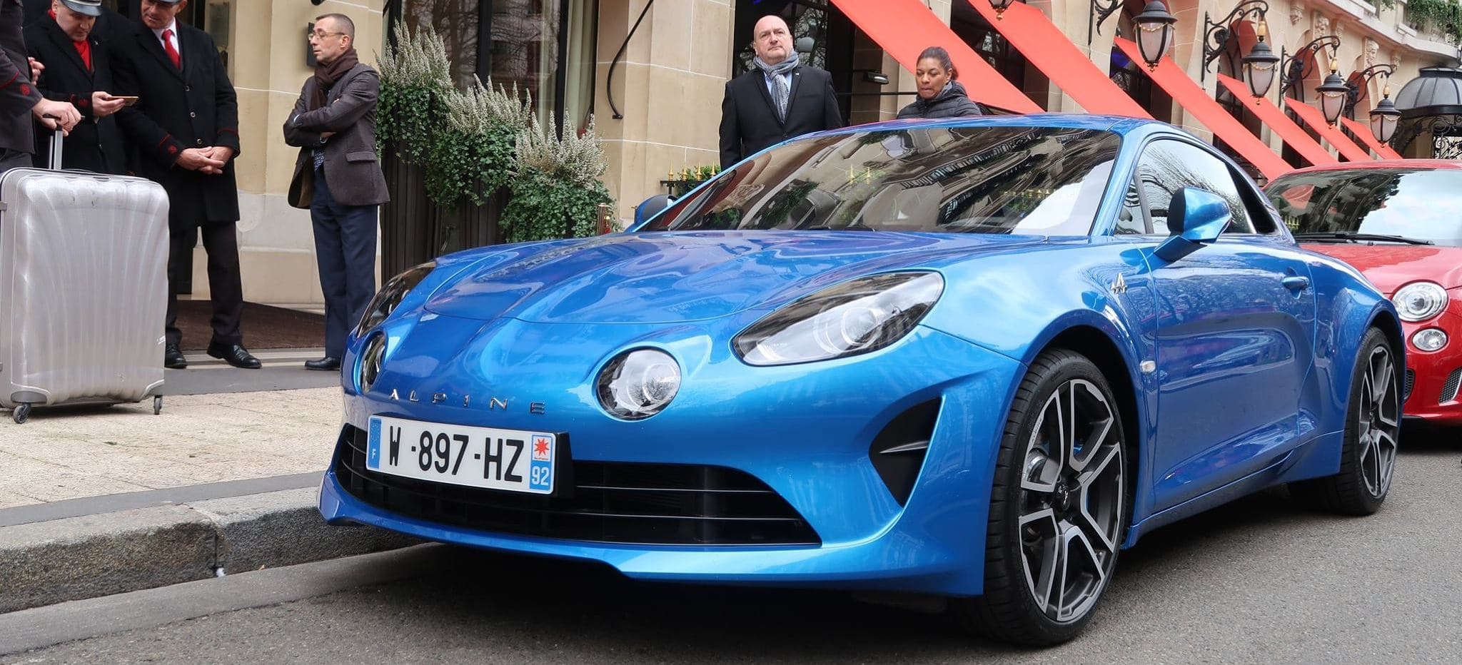 Alain Ducasse rencontre l'Alpine A110 à l'occasion de Good France !