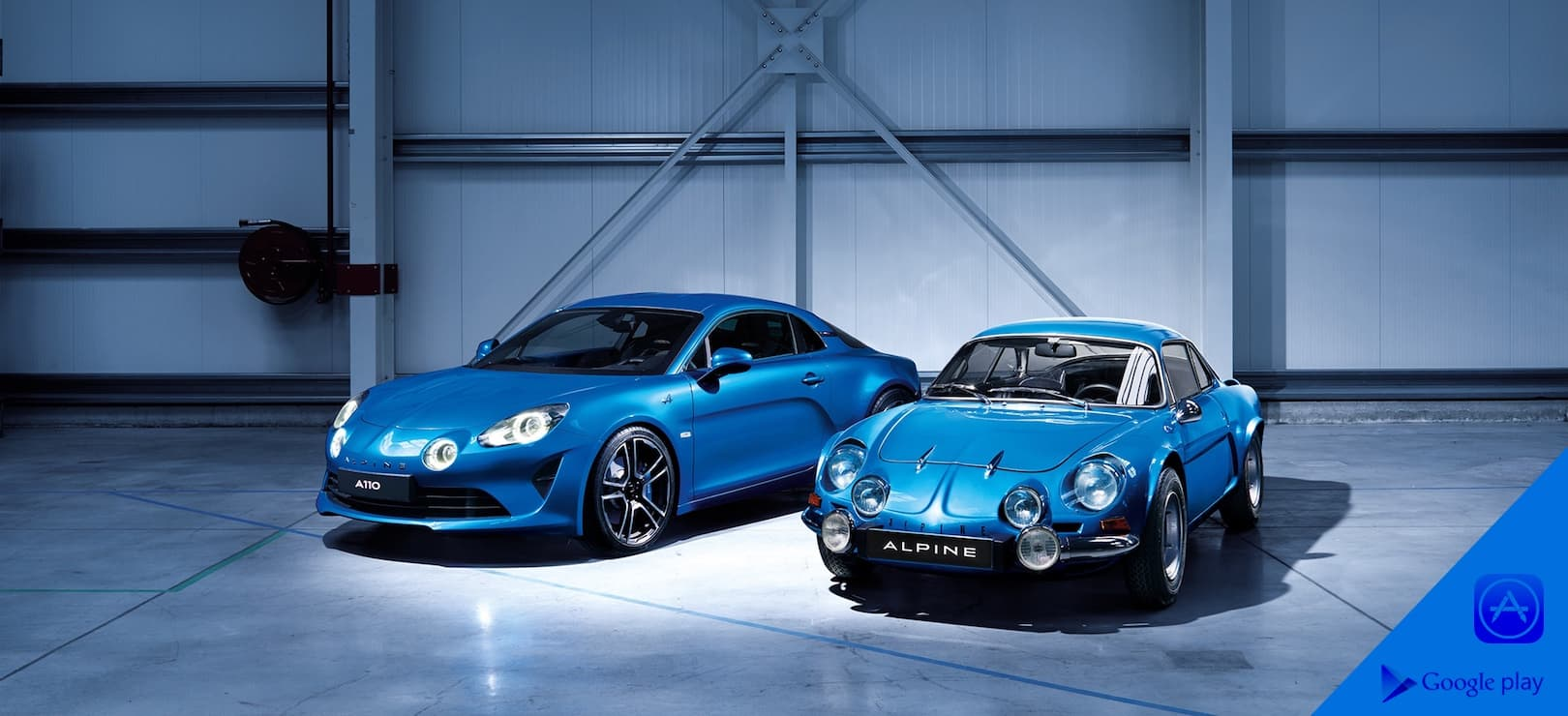 Commandez la nouvelle Alpine A110 via l'application mobile !