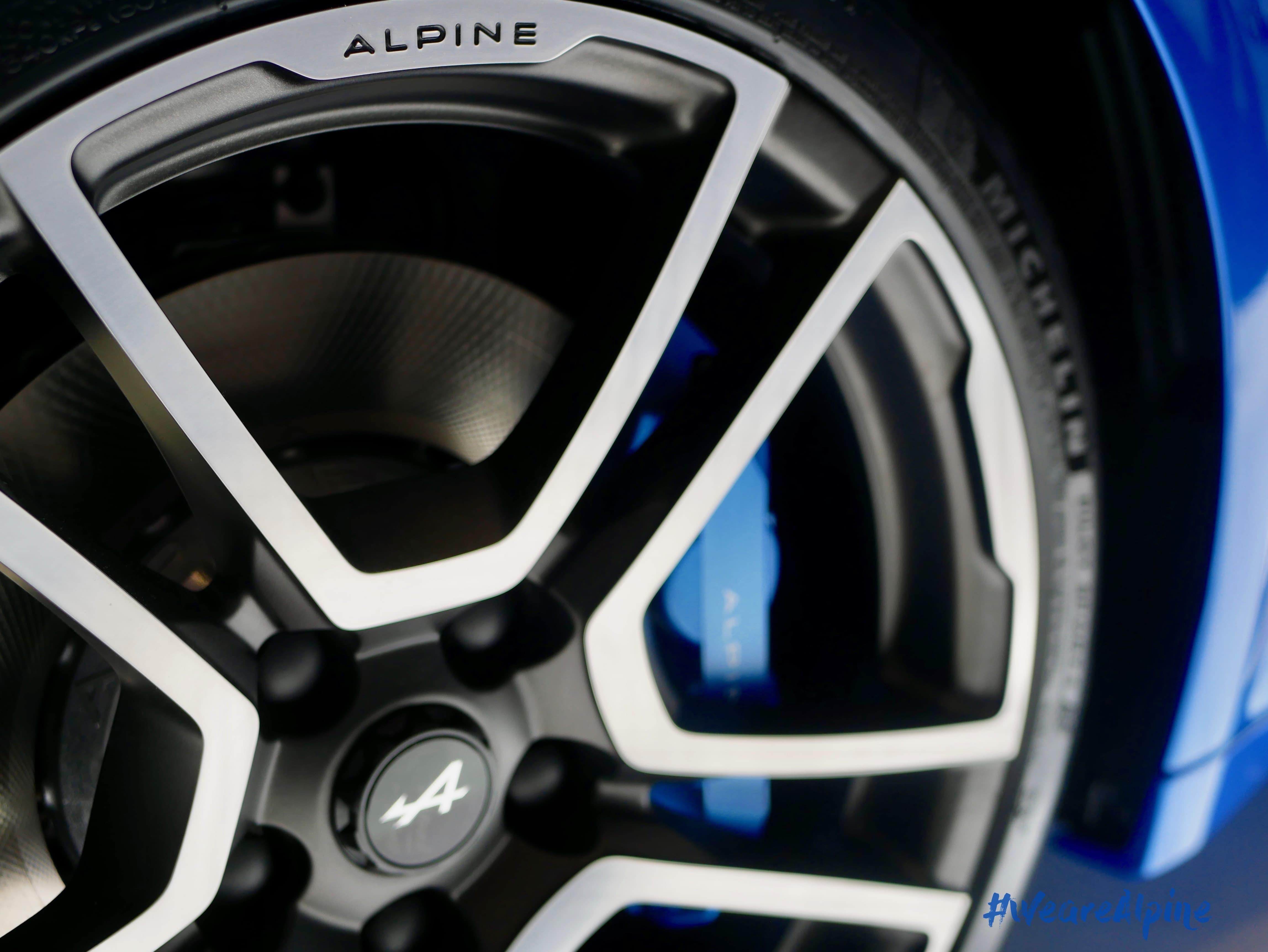 Le pneu MICHELIN Pilot Sport 4 équipera la nouvelle Alpine A110 Première Edition.