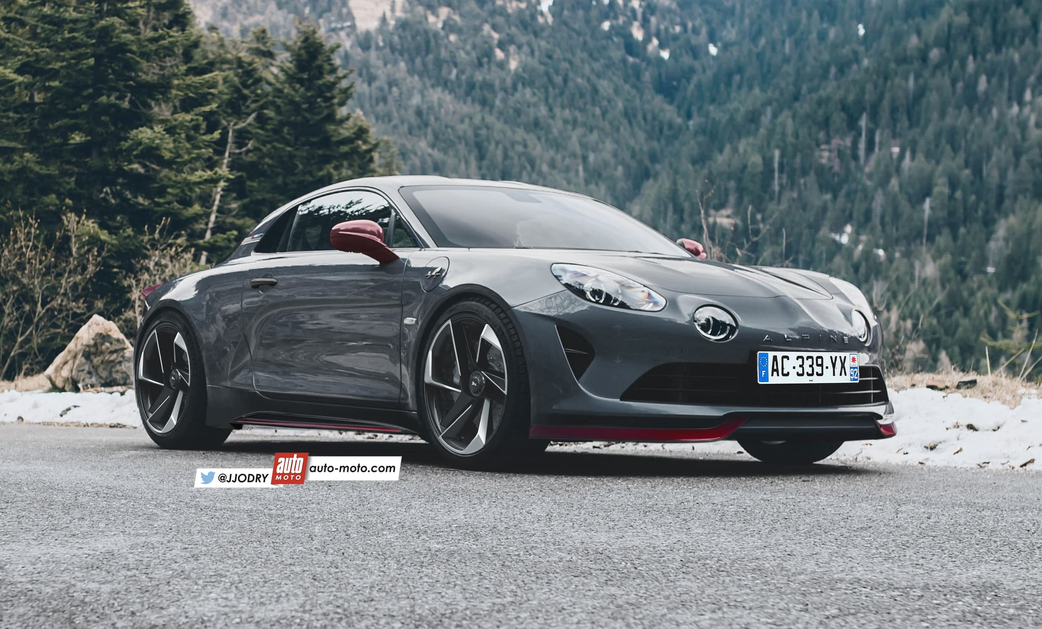 La version radicale de l'Alpine A110 se confirme ! 1