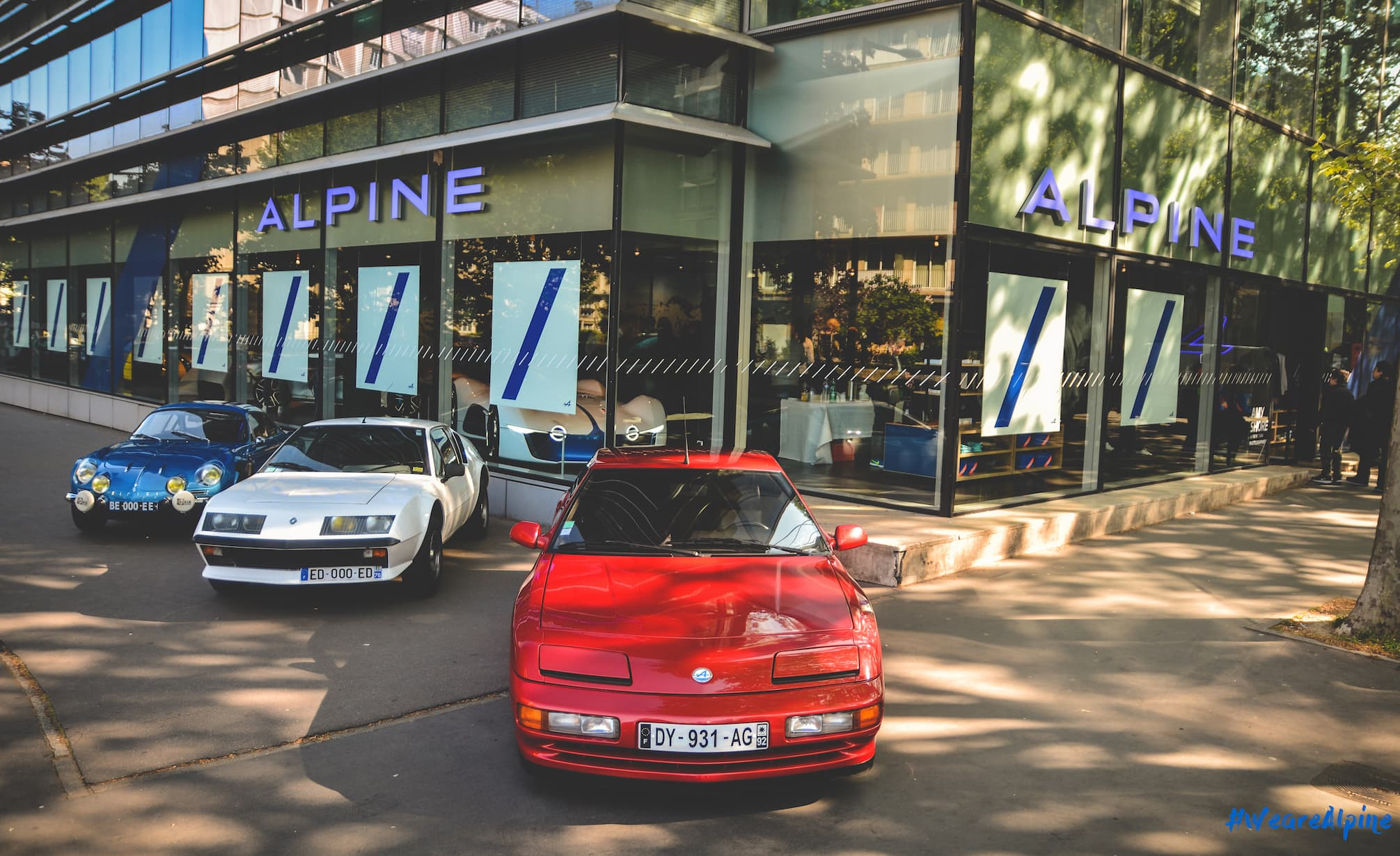 Alpine planet alpine va ouvrir son 20 me showroom for Ouvrir son garage auto