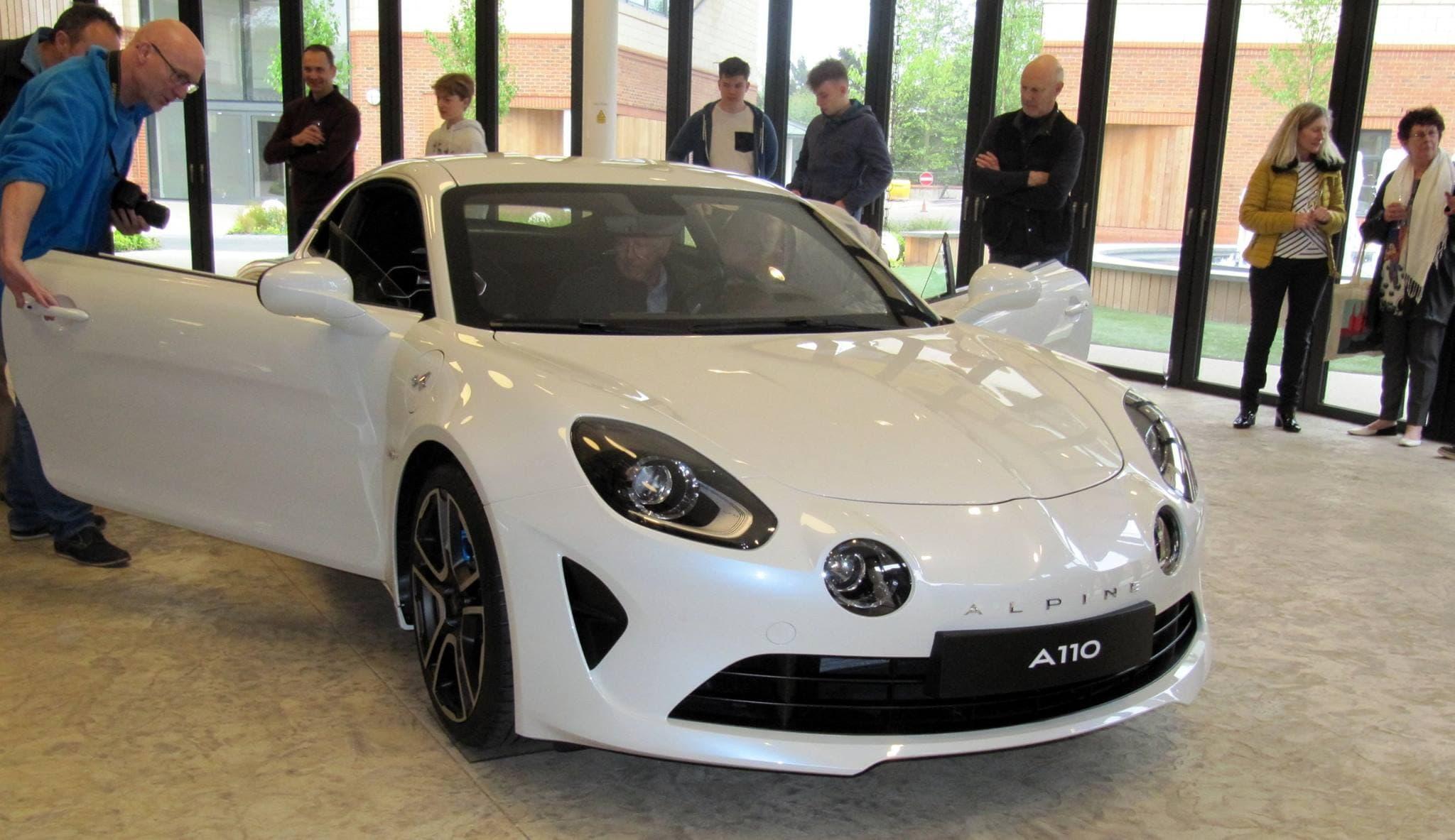 L'ASAN invitée à la présentation Anglaise de l'Alpine A110