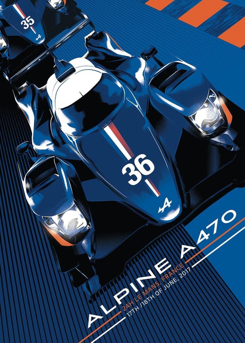 DBUfvM7XcAA1usM | L'Alpine A470 signe un chrono record sur le Circuit des 24 Heures