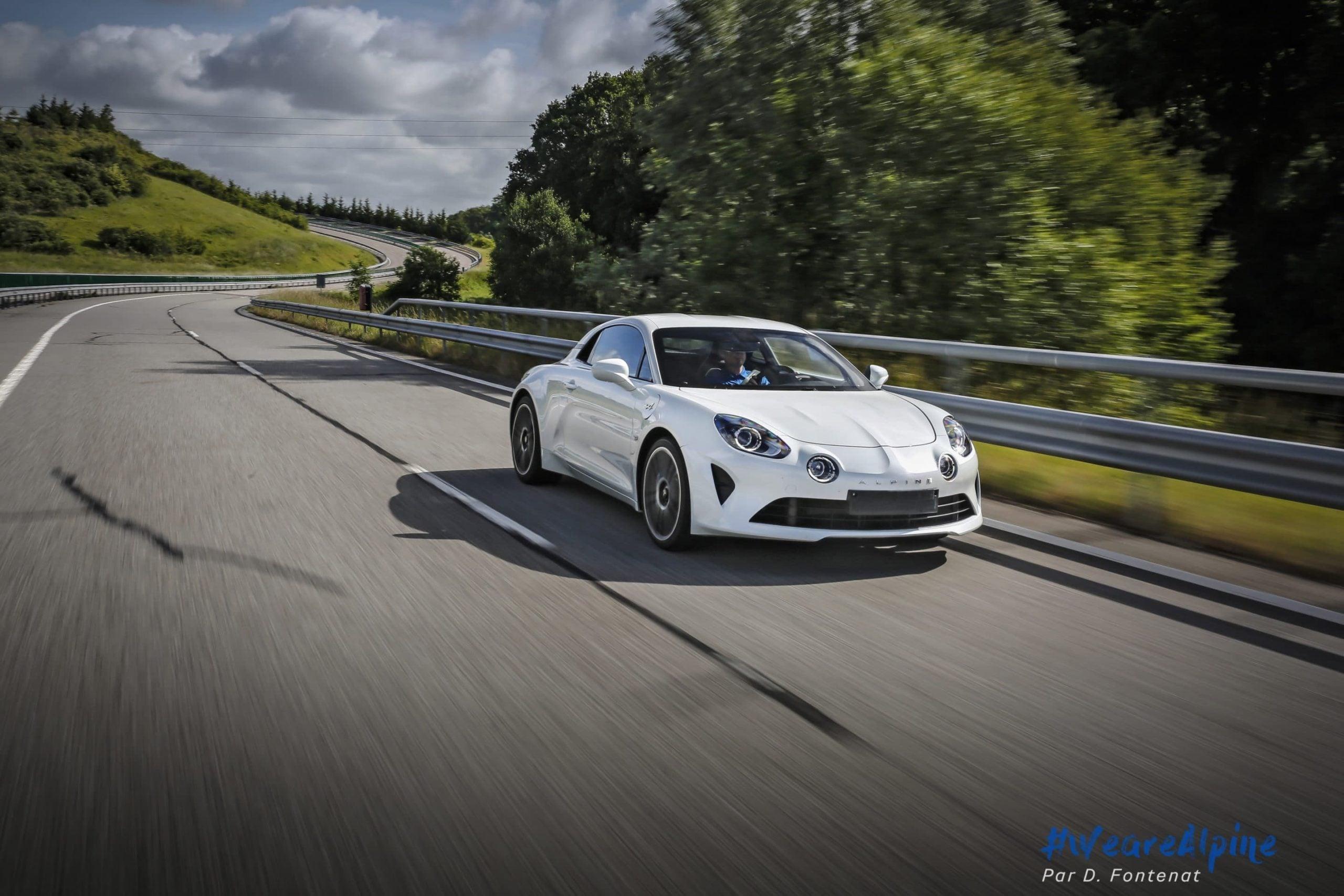 DF18666©D.Fontenat scaled | Essai vidéo de la nouvelle Alpine A110 sur circuit en exclusivité mondiale !